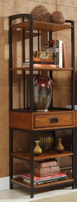 Modern Craftsman Distressed Oak Gaming Tower - Home Styles - HS-5050-13