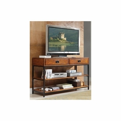 Modern Craftsman TV Stand with Two Drawers - Home Styles - HS-5050-06