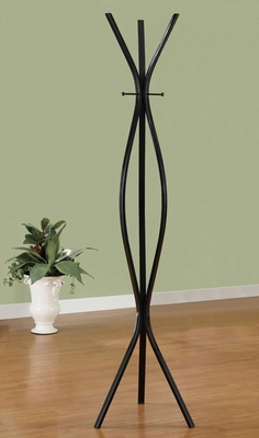 Modern Curvilinear Coat Rack - 900826