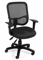 Modern Mesh Ergonomic Task Arm Chair - OFM - 130-AA3