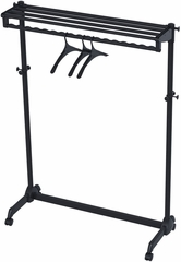 "Modern Mobile ALBA Garment Rack Single Shelf 48"" with 3 Hangers"