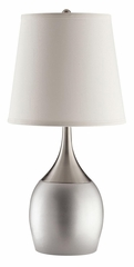Modern Table Lamp in Silver - Set of 2 - 901471