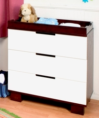 Modo 3-Drawer Dresser/Changer - DaVinci Furniture - M6723