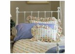 Molly Queen Size Headboard with Frame in White - Hillsdale Furniture