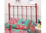 Molly Twin Size Headboard without Frame in Red - Hillsdale Furniture - 1087-340