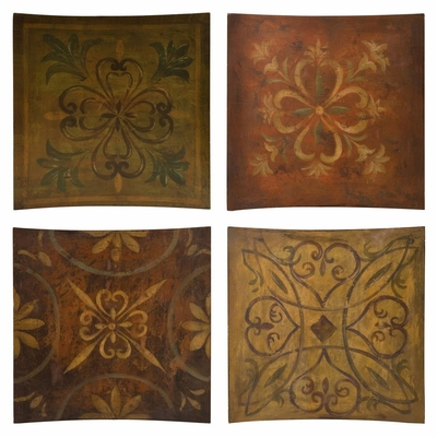 Molly Wall Decor (Set of 4) - IMAX - 87121-4