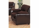 Monika Stationary Chair with Wood Feet - 502813