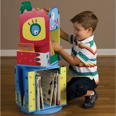 Monster Double Revolving Bookcase - LOD20058