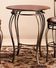Montello Bistro Table with Wood Top - Hillsdale Furniture
