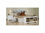 Monterey Furniture Collection in White - Prepac Furniture