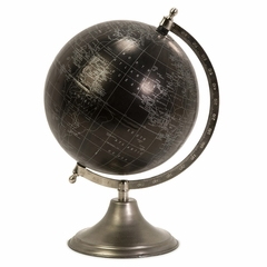 Moonlight Globe With Nickel Finish Stand - IMAX - 73023