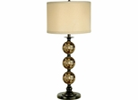 Mosaic 3 Ball Art Glass Table Lamp - Dale Tiffany
