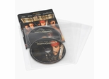 Movie Sleeves For CD DVD or Blu-Ray 25 Pack in Clear - Atlantic - 74604729
