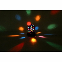 Multi-Color Rotating Disco Ball - Lumisource