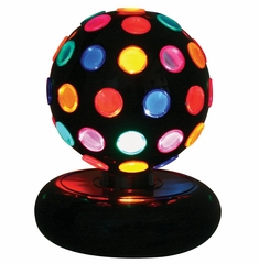 Multi-Color Rotating Disco Ball - LumiSource - LS-DISCO-6M