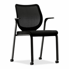 Multi-Purpose Stacking Chair - Black - HONN606NT10