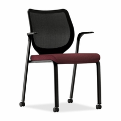 Multi-Purpose Stacking Chair - Wine - HONN606NT69