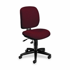 Multi-Task Chair - Burgundy/Black Frame - HON5903AB62T