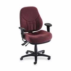 Multi-Task Chair - Burgundy - LLR81102
