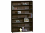 Multimedia Storage Tower Cinnamon Cherry - Sauder Furniture - 409110