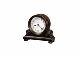 Murray Worn Black Mantel Clock - Howard Miller