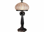 Musetta Amber Table Lamp - Dale Tiffany