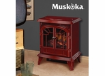Muskoka Phoenix Electric Stove - Gloss Red - Greenway Home Products - MES30GR