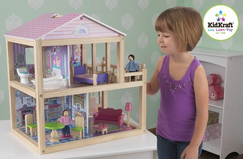 My Pretty Petal Dollhouse - KidKraft Furniture - 65275