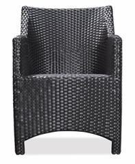 Mykonos Outdoor Chair in Chocolate - Zuo Modern - 701150