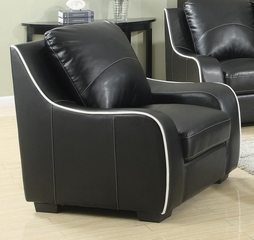 Myles Bonded Leather Chair - 504223