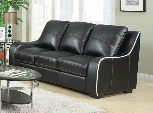 Myles Bonded Leather Sofa - 504221