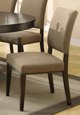 Myrtle Side Chair in Coffee - Set of 2 - 103572