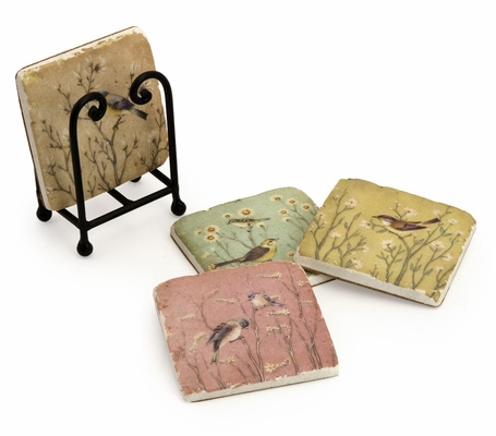 Naomie Coasters (Set of 4) - IMAX - 27469