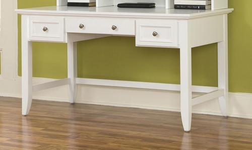 Naples Executive Desk in White - Home Styles - 5530-15
