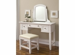 Naples Vanity Table in White - Home Styles - 5530-70