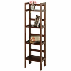 Narrow 4-Tier Folding Shelf - Winsome Trading - 94852