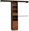 Narrow Closet In A Box - Coach Cherry - Sauder Furniture - 409802