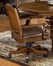 Nassau Game / Dining Leather Chair - Hillsdale Furniture - 6060-801