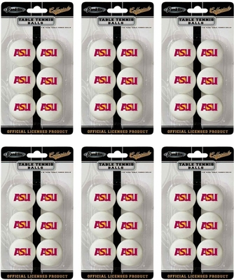 NCAA ARIZONA STATE Table Tennis 36 Ball Pack - Franklin Sports