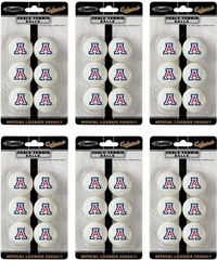 NCAA ARIZONA Table Tennis 36 Ball Pack - Franklin Sports