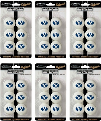 NCAA BYU Table Tennis 36 Ball Pack - Franklin Sports