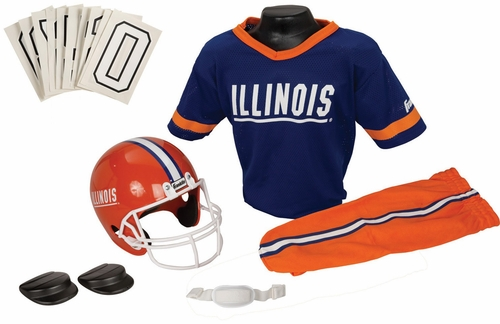 NCAA ILLINOIS Uniform Set - Franklin Sports