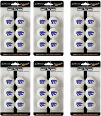 NCAA KANSAS STATE Table Tennis 36 Ball Pack - Franklin Sports