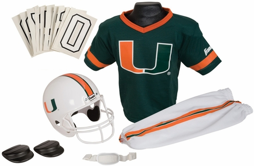 NCAA MIAMI Uniform Set - Franklin Sports