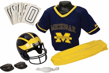 NCAA MICHIGAN Uniform Set - Franklin Sports