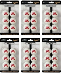 NCAA MINNESOTA Table Tennis 36 Ball Pack - Franklin Sports