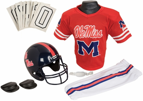NCAA MISS UNIV. Uniform Set - Franklin Sports