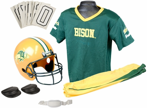 NCAA N. DAKOTA STATE Uniform Set - Franklin Sports