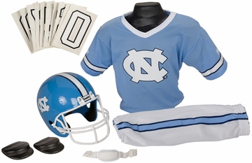 NCAA NORTH CAROLINA Uniform Set - Franklin Sports