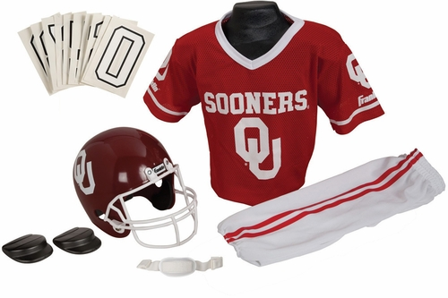 NCAA OKLAHOMA Uniform Set - Franklin Sports